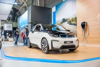 The new BMW i3 makes its debut on Sofia Motor Show 2017. (10/2017)