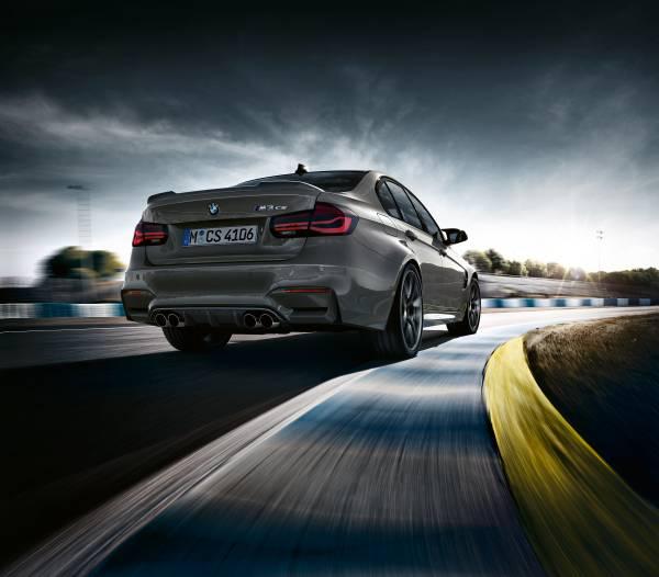 The BMW M3 CS.