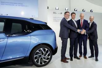 BMW Group underlines leading role in electro-mobility