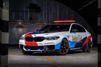 The BMW M5 MotoGP Safety Car.