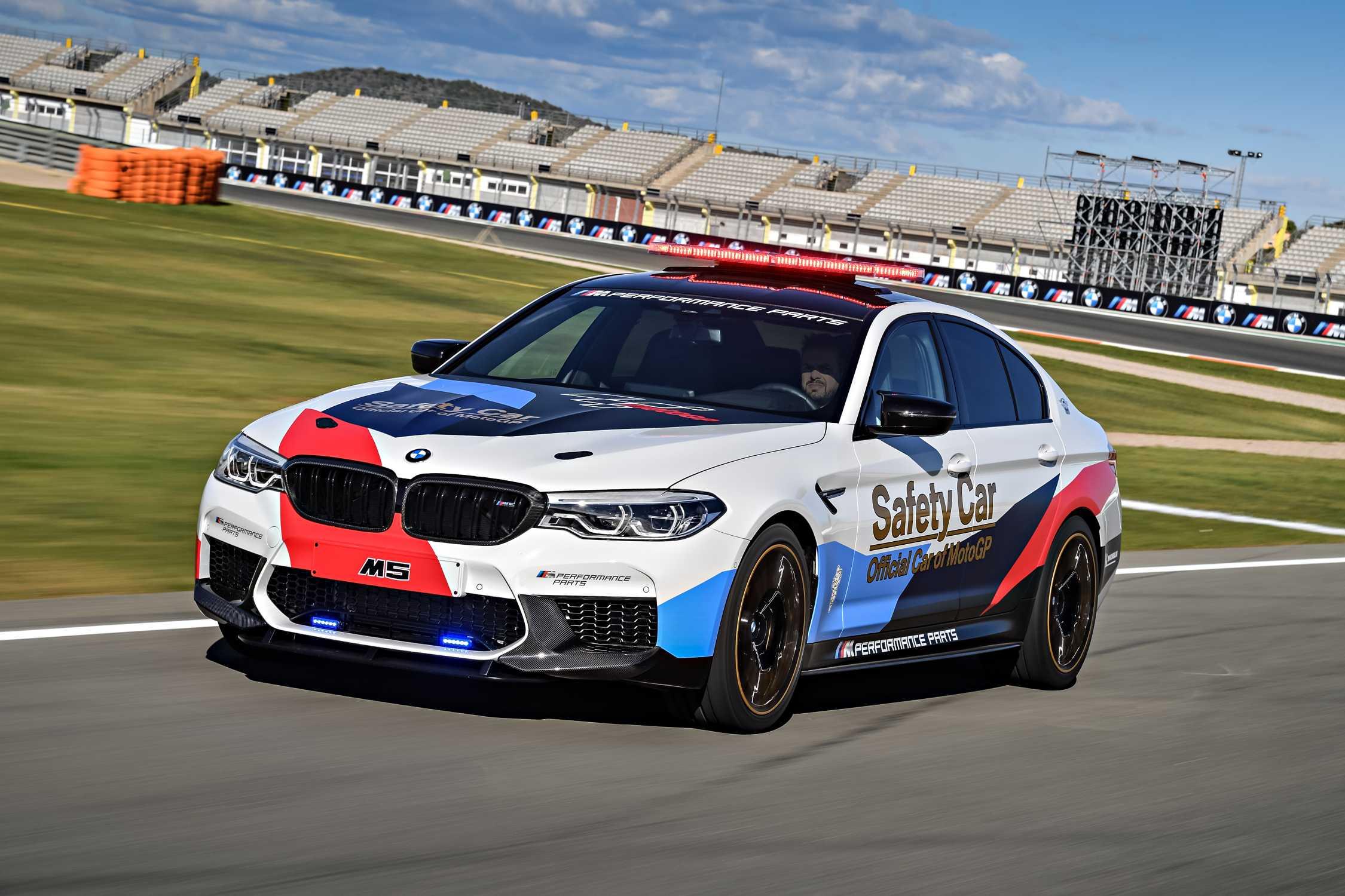 BMW M5 MotoGP Safety Car.
