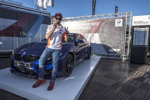 Marc Marquez y su BMW M4 CS