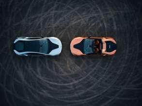 Der neue BMW i8 Roadster und das neue BMW i8 Coupé. (11/2017)