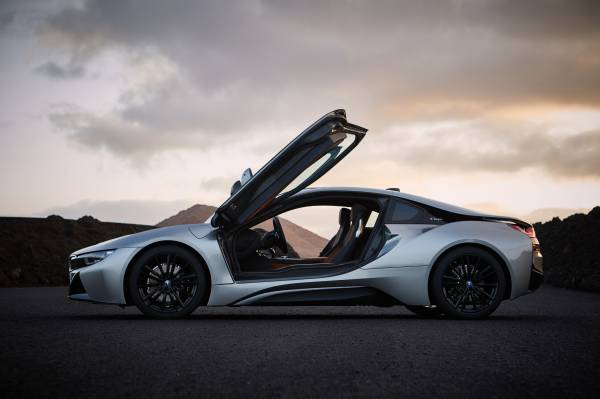 The new BMW i8 Coupe.(11/2017)