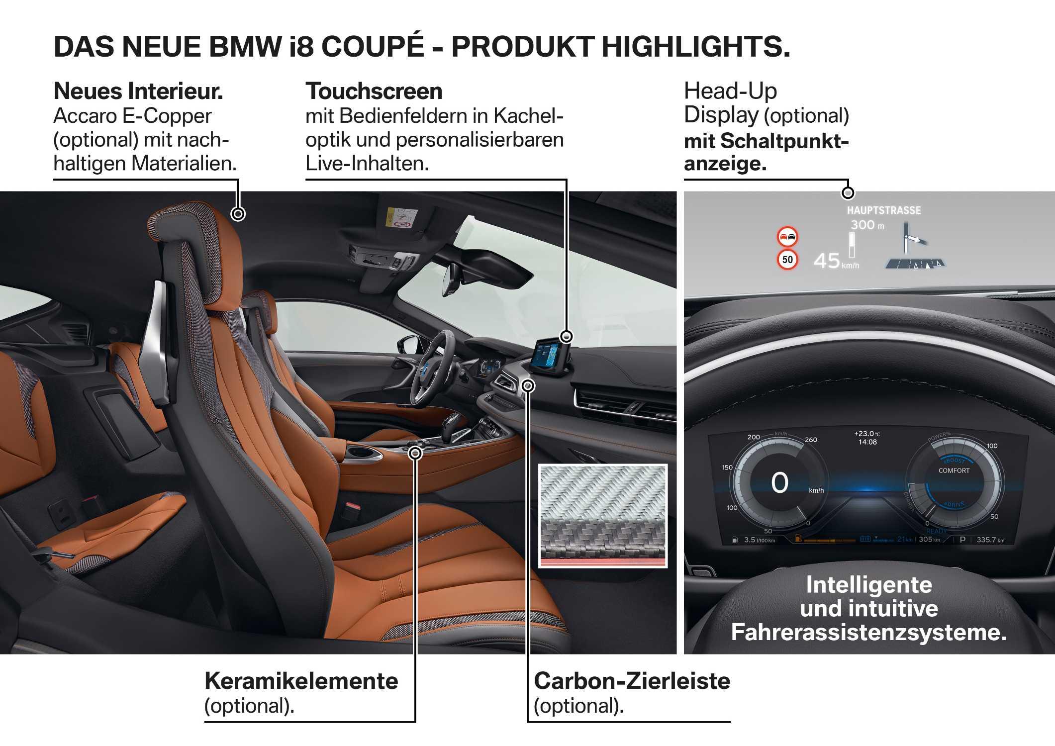 Das neue BMW i8 Coupé - Produkt Highlights. (11/2017)