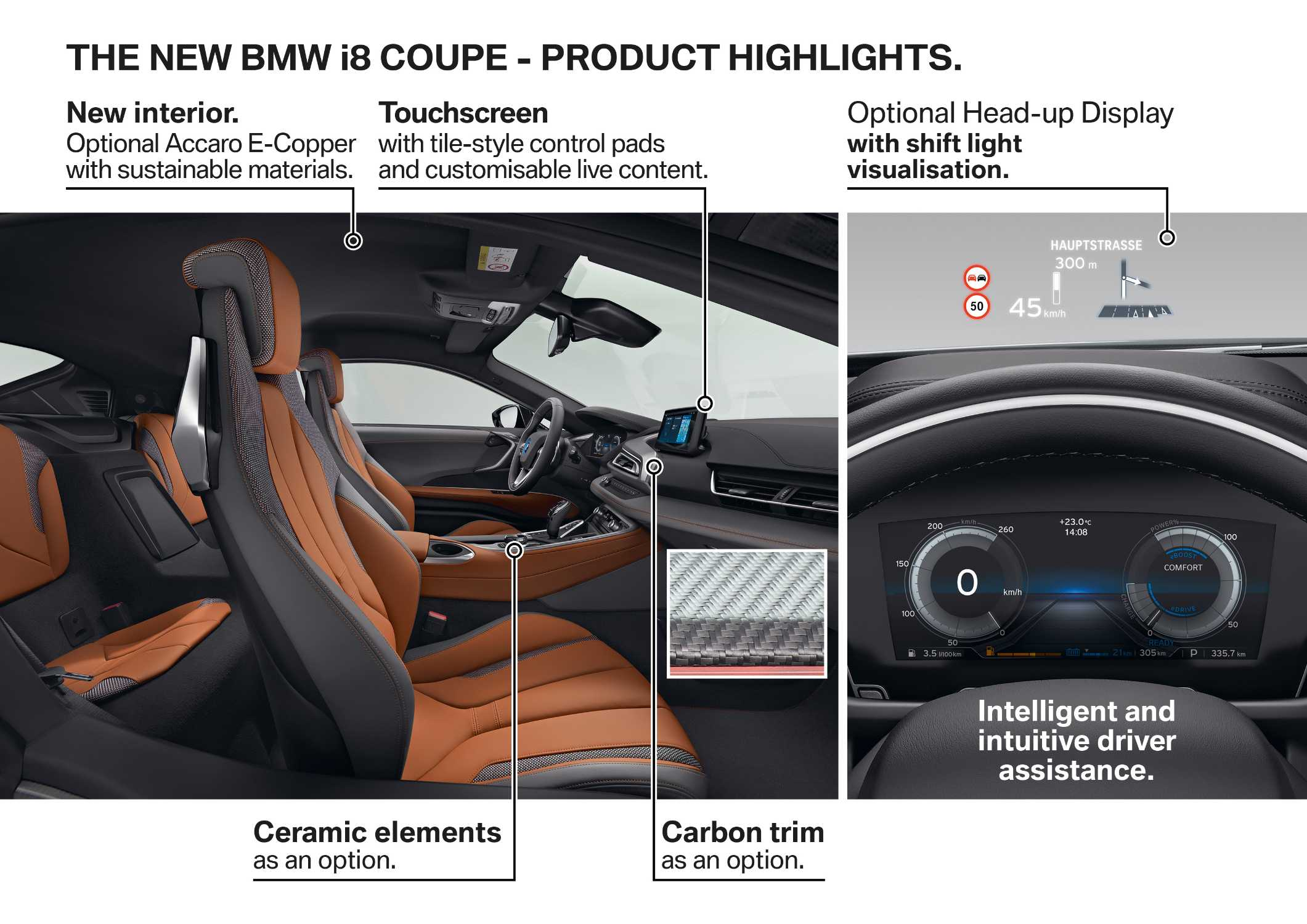 The new BMW i8 Coupe - Product Highlights. (11/2017)