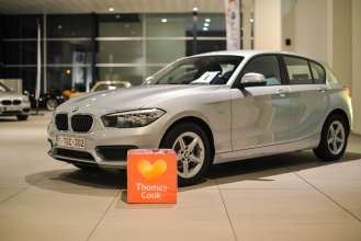 Thomas Cook Belgium chooses BMW as sole vehicle provider. Delivery of the first vehicles at BMW Peter Daeninck (11/2017)