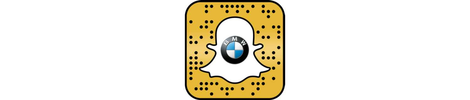 Snapcode for the BMW X2 Augmented Trial Lens. (11/2017)