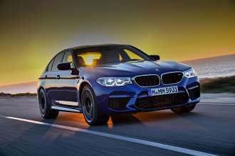 The new BMW M5 (11/2017).