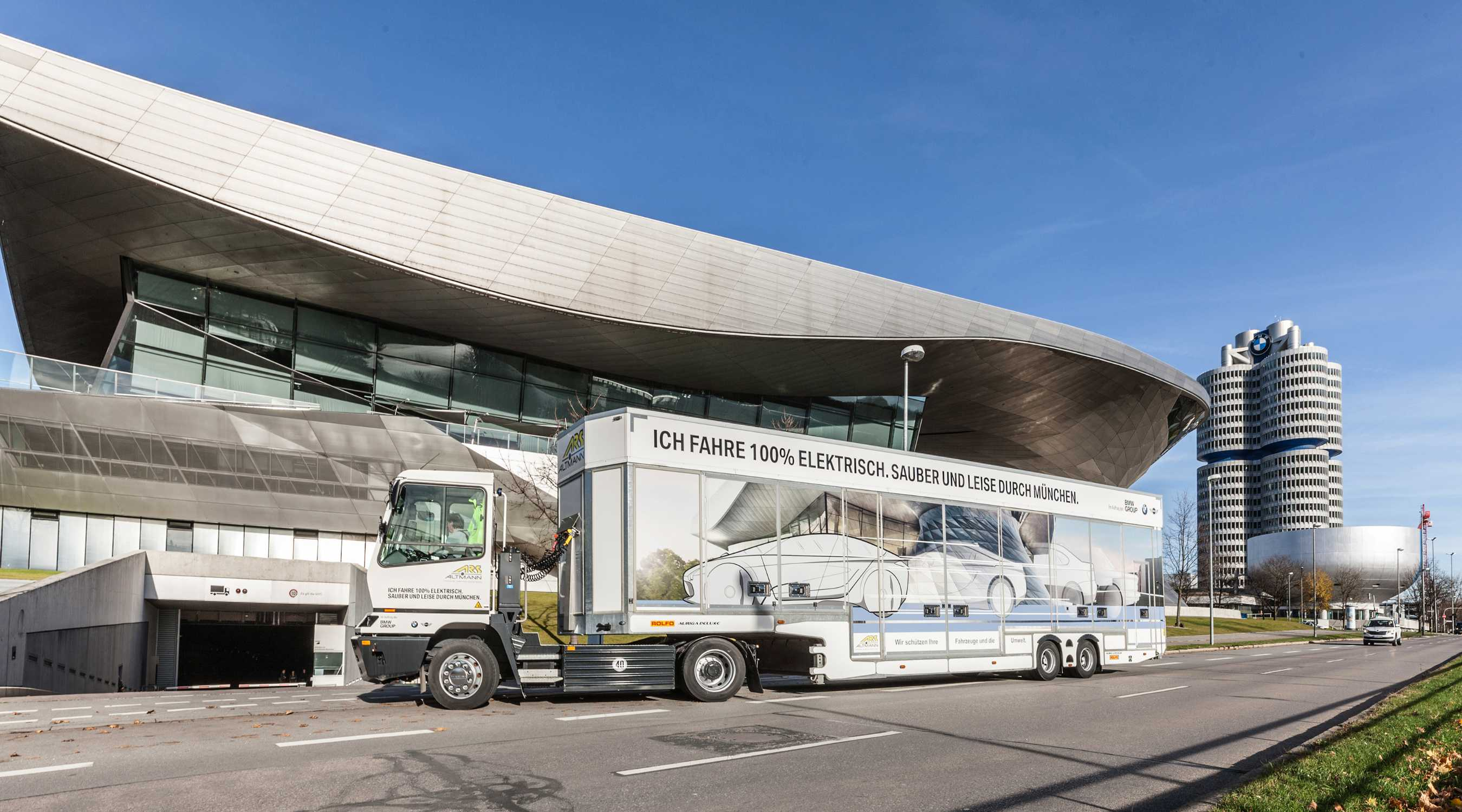 Electric Trucks For Bmw Group Plant Munich 100 Electric