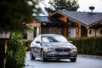 BMW 6 Series Gran Turismo, national launch Bulgaria (12/2017)