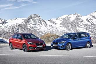 The new BMW 2 Series Active Tourer and the new BMW 2 Series Gran Tourer (01/2018).