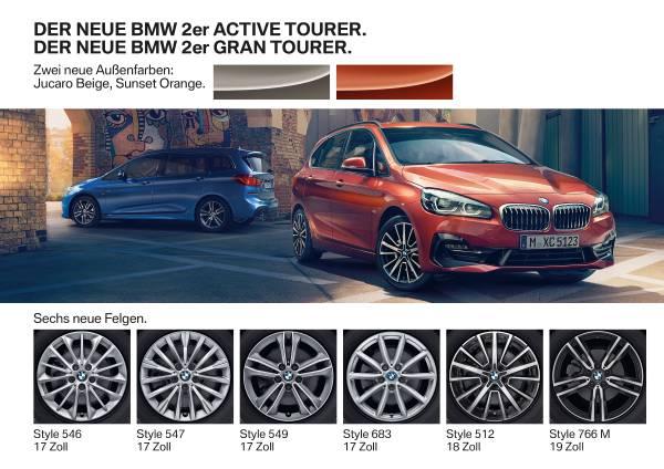 Der neue BMW 2er Active Tourer. Der neue BMW 2er Gran Tourer (01/2018).