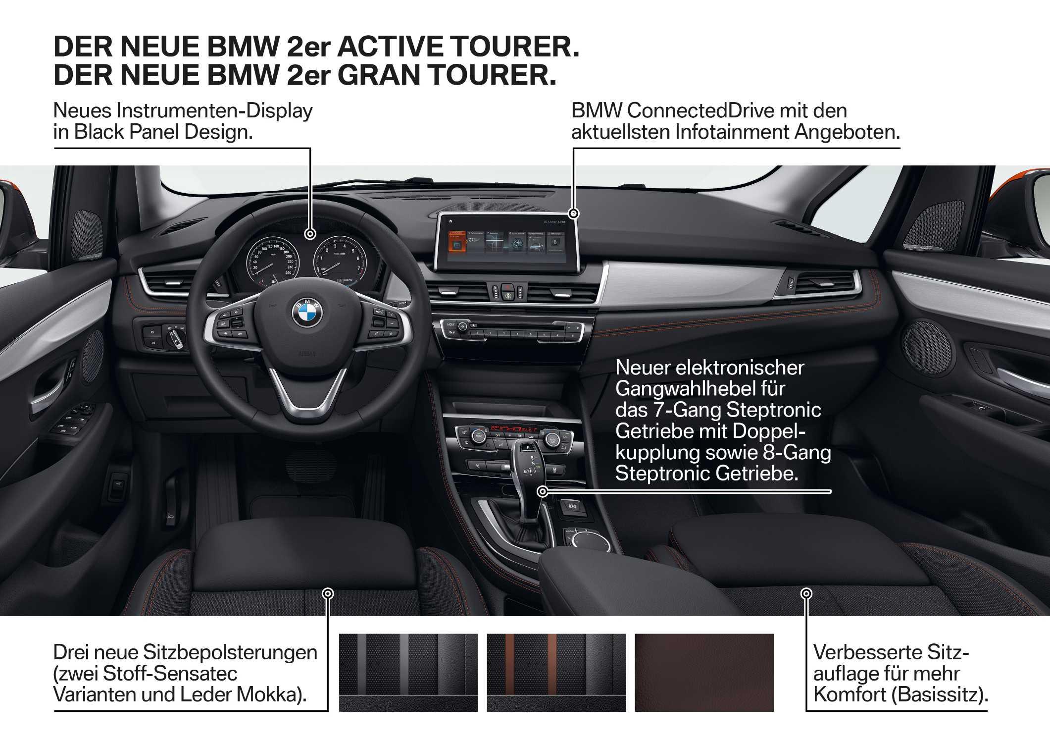 Der Neue Bmw 2er Active Tourer Der Neue Bmw 2er Gran Tourer 012018