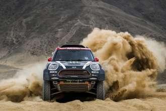 2018 Dakar, Shakedown, Joan Nani Roma (ESP), Alex Haro (ESP) - MINI John Cooper Works Rally - X-raid Team 302 - 04.01.2018
