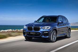 All-new BMW X3 (01/2018)