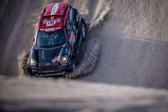 2018 Dakar, Stage 5 San Juan de Marcona - Arequipa, Orlando Terranova (ARG), Bernardo Graue (Arg) - MINI John Cooper Works Rally - X-raid Team 307 - 10.01.2018
