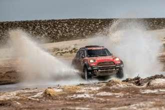 2018 Dakar, Stage 8 Uyuni - Tupiza, Jakub Kuba Przygonski (POL), Tom Colsoul (BEL) - MINI John Cooper Works Rally - X-raid Team 312 - 14.01.2018