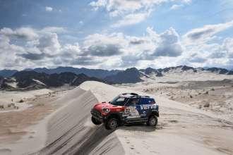 2018 Dakar, Stage 11: Belen - Fiambala - Chilecito, Jakub Kuba Przygonski (POL), Tom Colsoul (BEL) - MINI John Cooper Works Rally - X-raid Team 312 - 13.01.2018