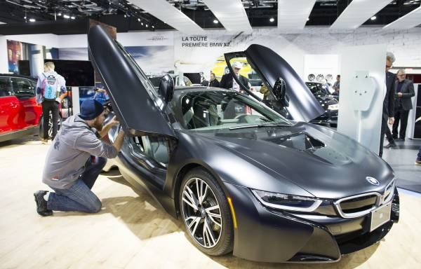 BMW Group Leads The Charge At The Montreal International Auto Show - Bmw car show 2018