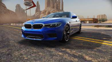 "The new BMW M5 in ""Need for Speed No Limits"". In-Game. (02/2018)"