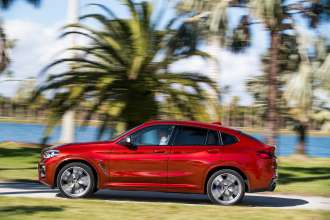 The new BMW X4 M40d (02/2018).