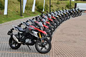 On Location Pictures – The new BMW G 310 GS South African media launch.
