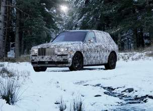 Name Of New High Bodied Vehicle To Be Rolls Royce Cullinan