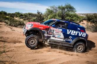 2018 Dakar, Jakub Kuba Przygonski (POL), Tom Colsoul (BEL) - MINI John Cooper Works Rally - X-raid Team, #312 - 19.01.2018