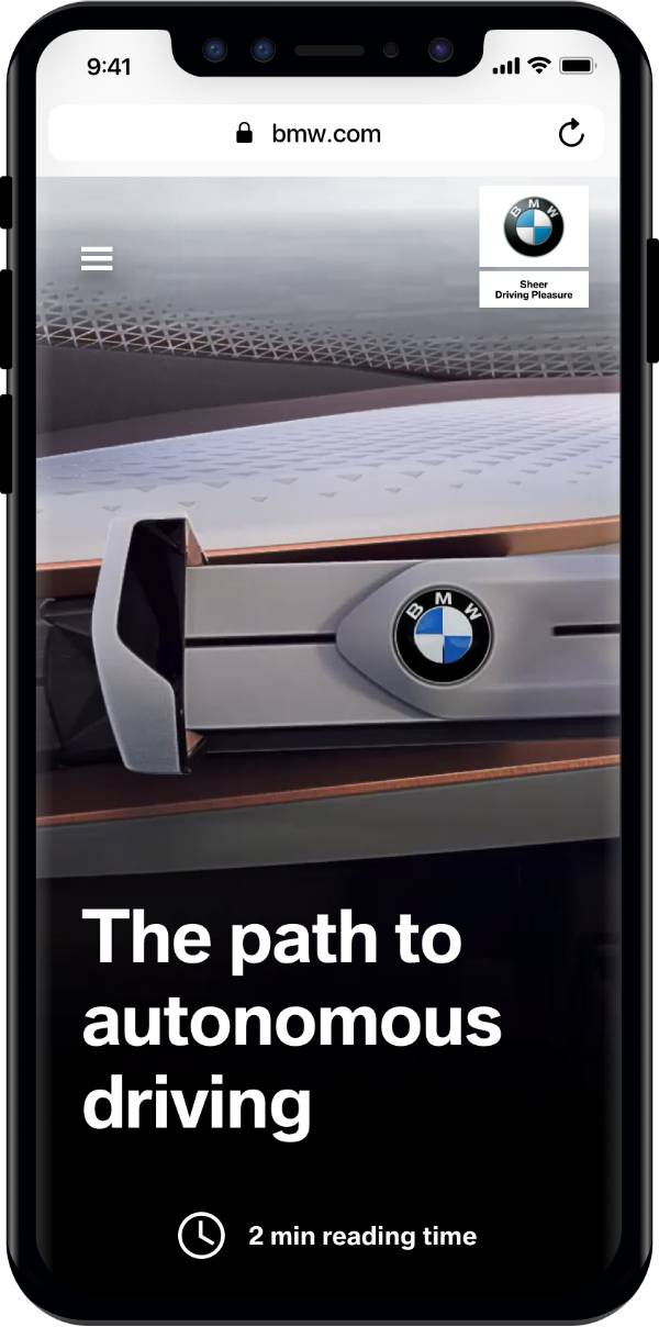 Bmw Com Relaunch The New Digital Home Of The Bmw Brand Bmw Upgrades Central Website To A Unique And Modern Storytelling Experience