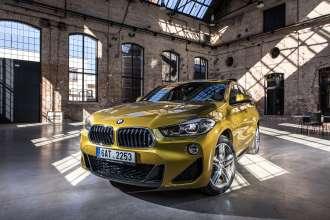 Premiere of BMW X2 in the Czech Republic in Uhelny mlyn (02/2018)