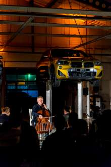BMW X2 presentation and secret Bach concert at Automobile Bavaria Otopeni, Romania (02/2018)