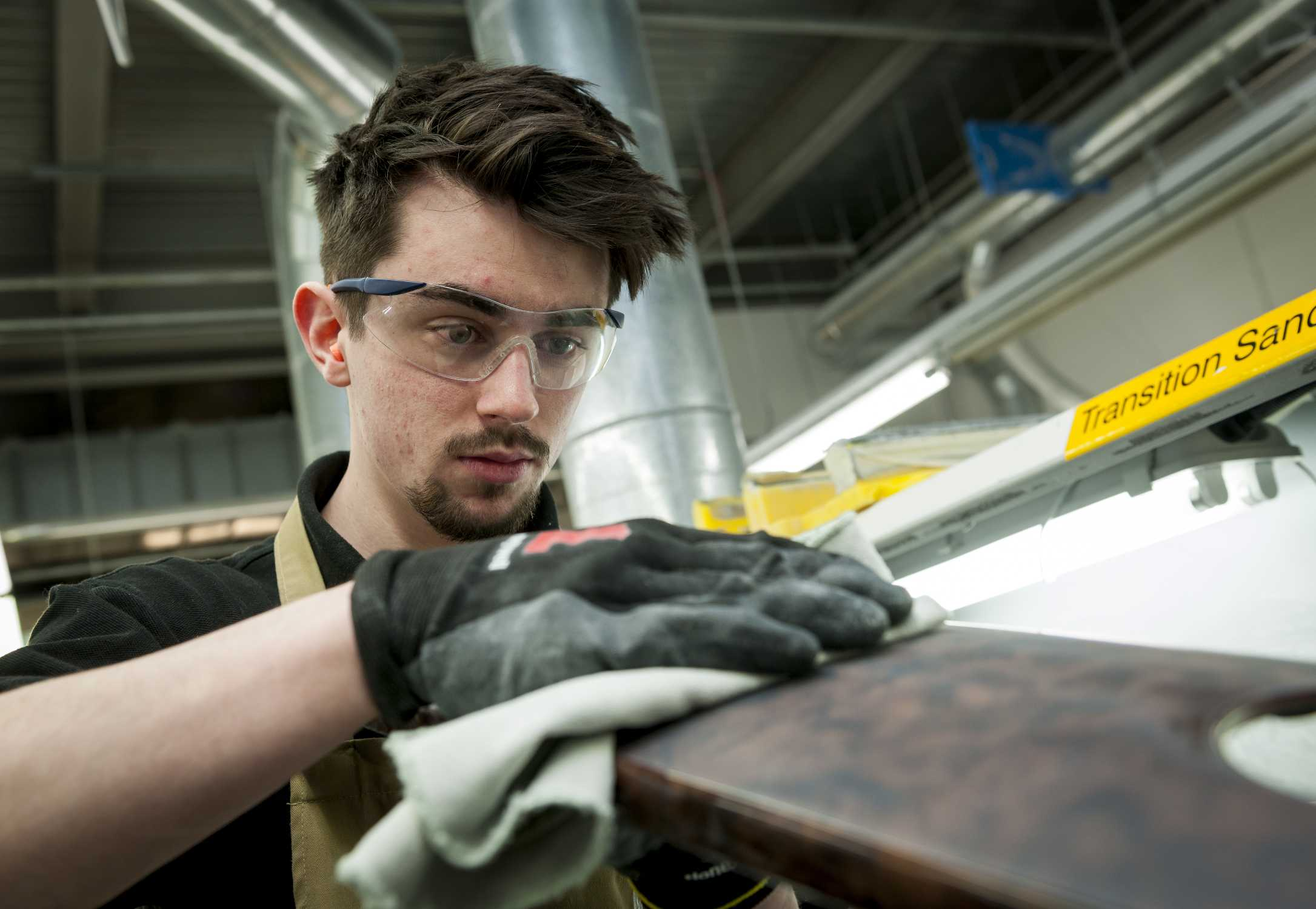 CALLUM RAFFERTY, ROLLS-ROYCE MOTOR CARS APPRENTICE