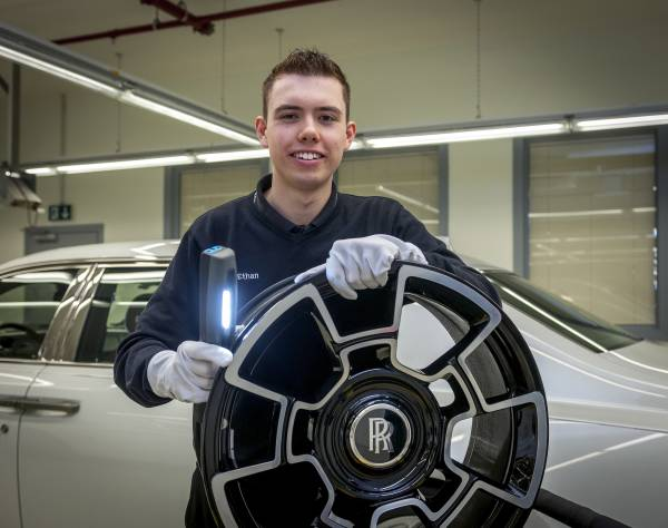 ETHAN BROWN, ROLLS-ROYCE MOTOR CARS APPRENTICE