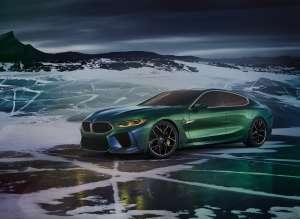 BMW Concept M8 Gran Coupe. (03/2018)