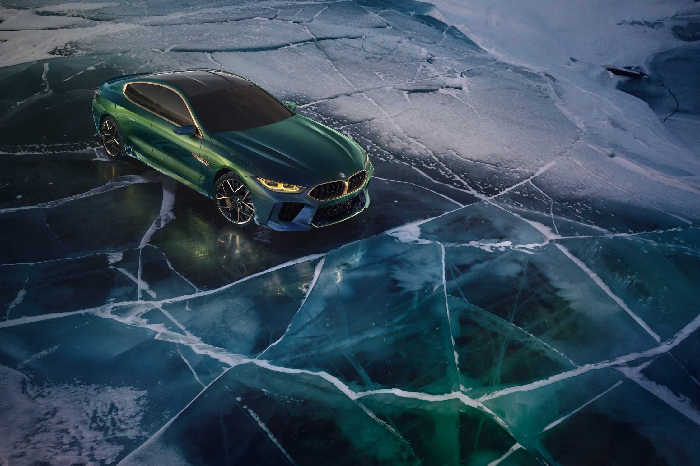 The Bmw Concept M8 Gran Coupe Showcases A New Interpretation Of