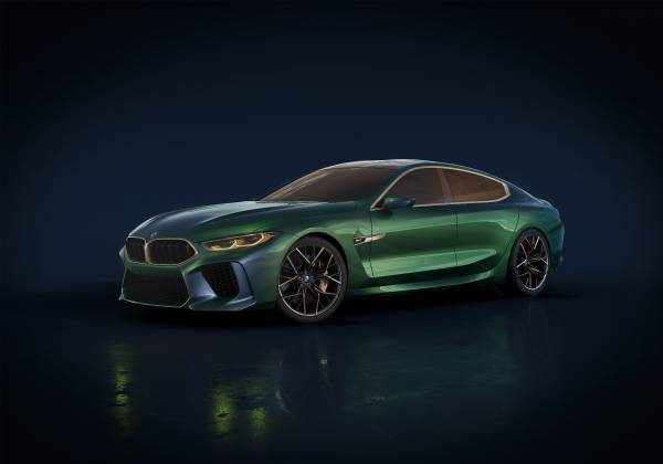 The Bmw Concept M8 Gran Coupe Showcases A New Interpretation Of Luxury For The Bmw Brand