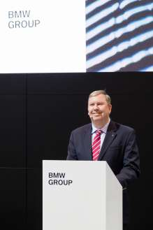 BMW Group Canada President and CEO Hans Blesse at the Canadian International Auto Show.(03/2018))
