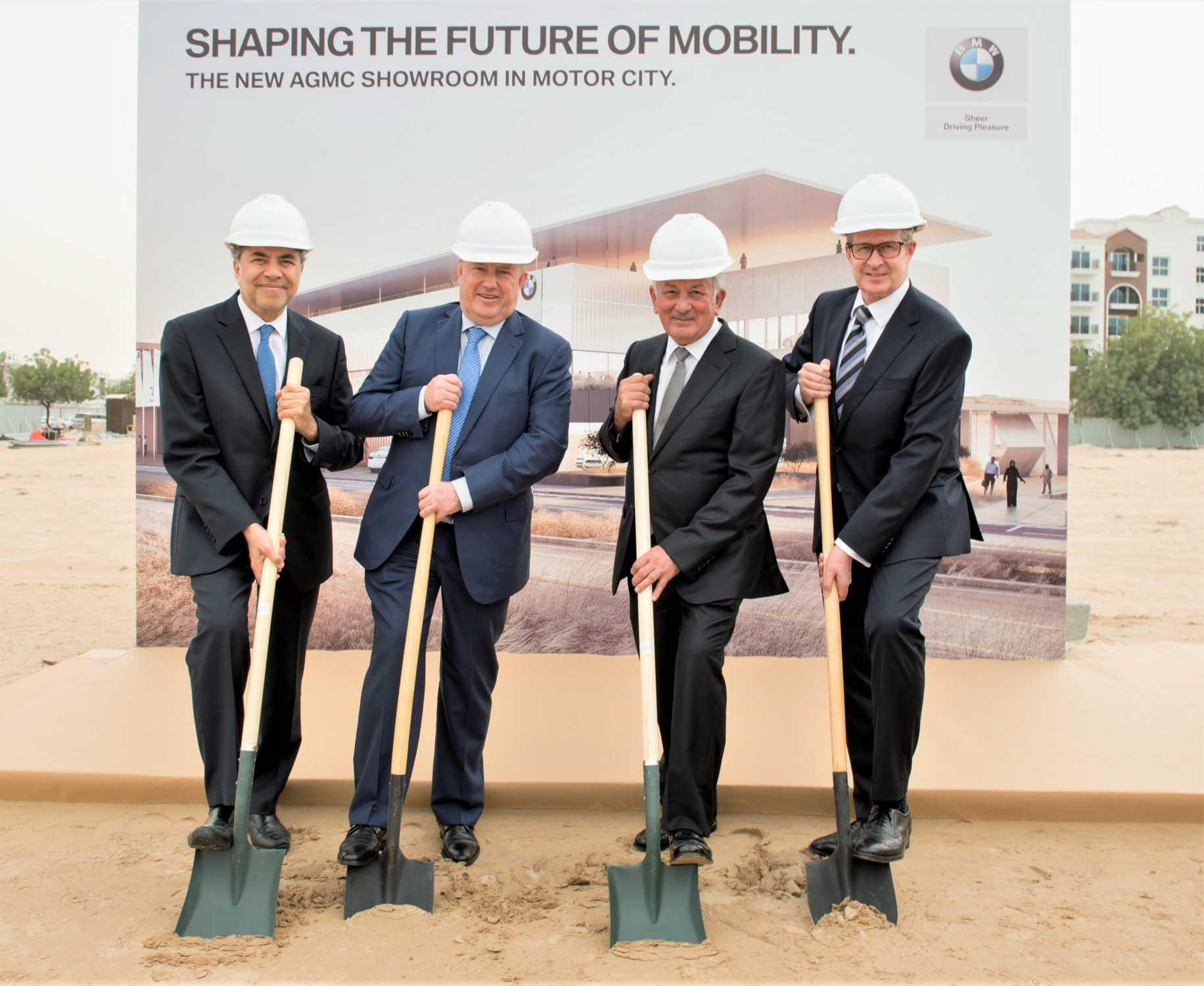 AGMC breaks ground at new multi-million Dubai Motor City site