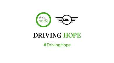 MINI and Sing for Hope. (03/2018)