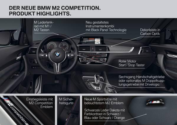 Der neue BMW M2 Competition (04/2018).