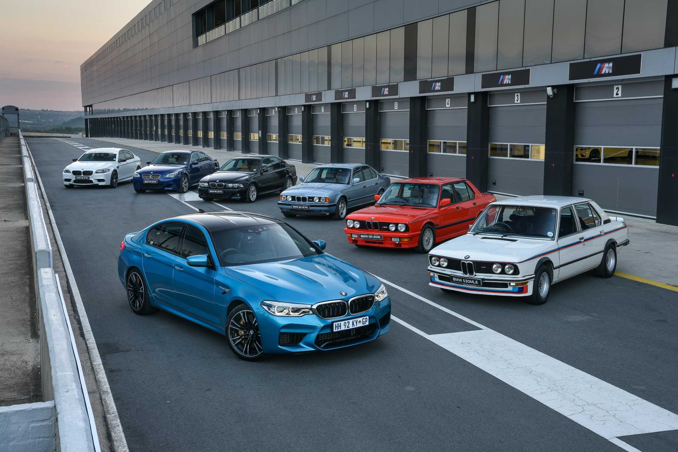 The all-new BMW M5 now available in South Africa.