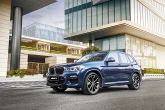 The BMW X3 China (04/2018).