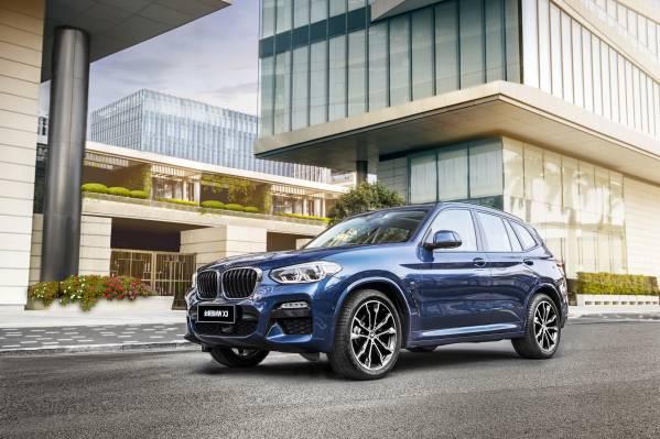 The BMW X3 China (04/2018).