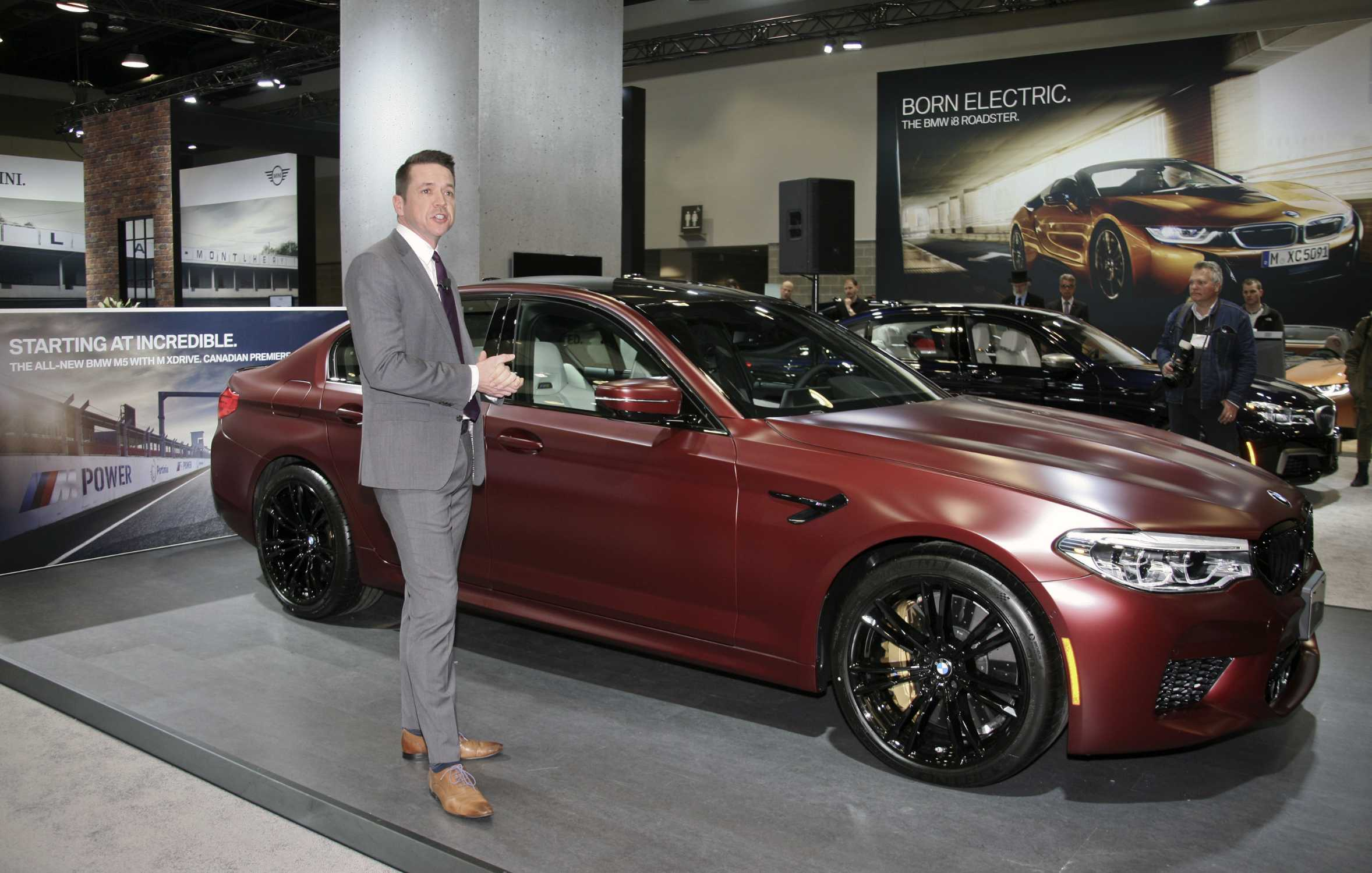 The Bmw M5 First Edition Enjoys Its Canadian Premiere At The