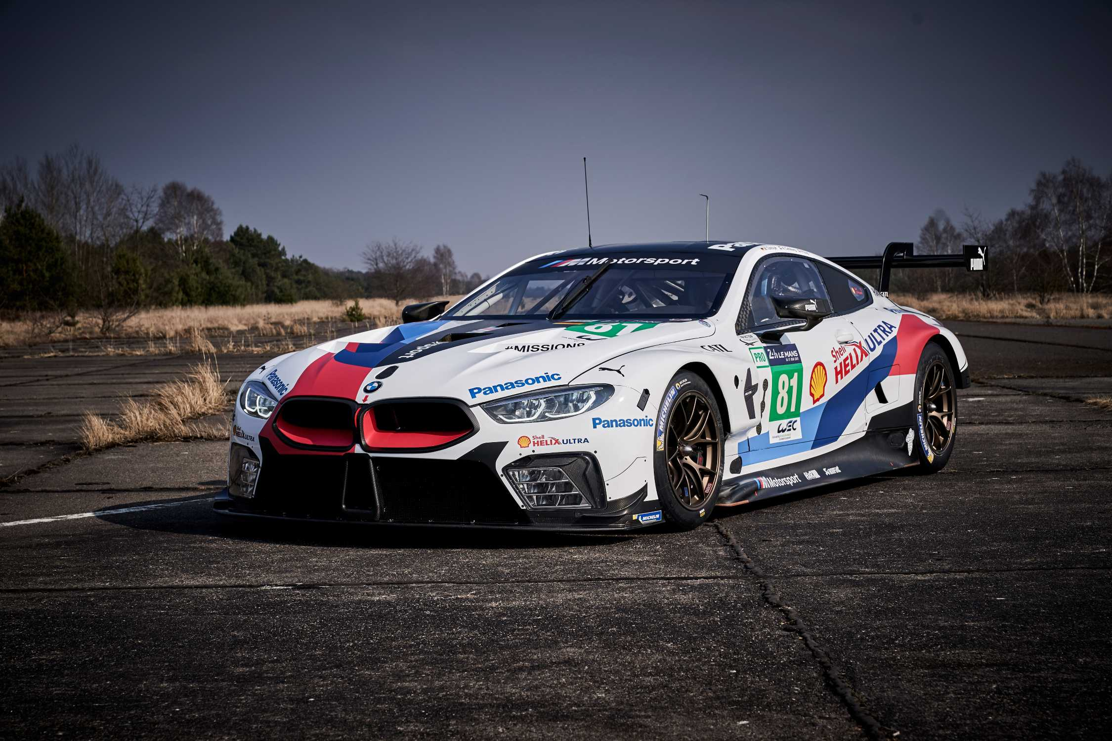 bmw m8 gte makes fia wec debut at the prologue. Black Bedroom Furniture Sets. Home Design Ideas