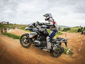 The caption can be BMW Motorrad Rider Experience 2018. (04/2018)