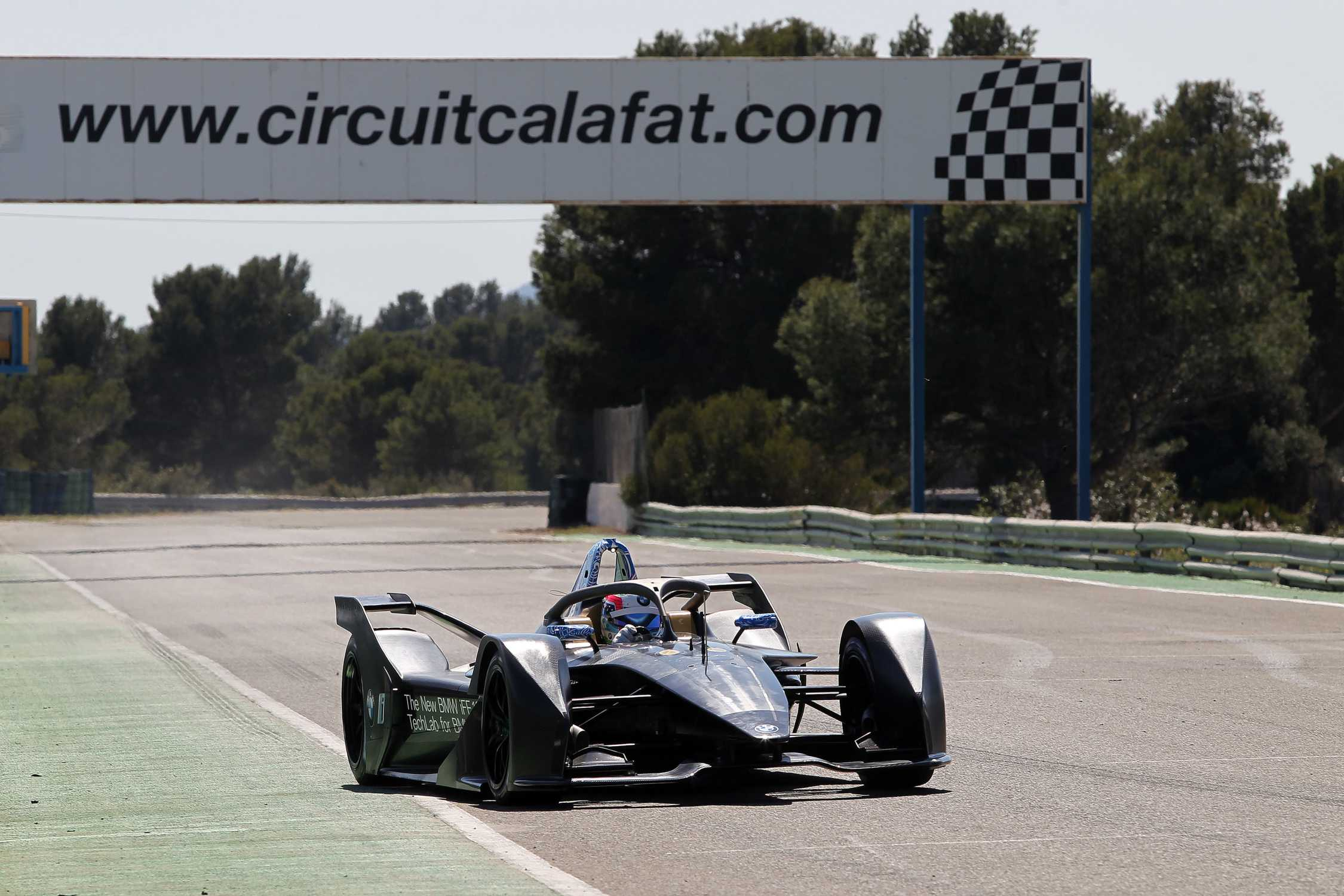 Successful Outing For The Bmw Ife 18 At The Formula E Test