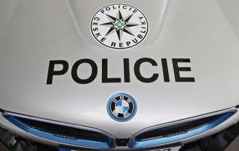 BMW i8 Coupé for Czech Police.