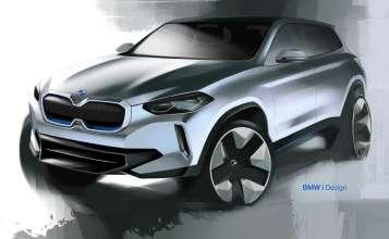 BMW Concept iX3 (04/2018).